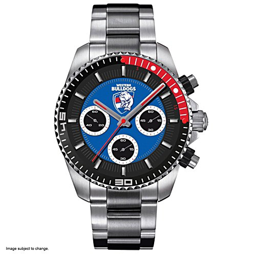 AFL Western Bulldogs Men's Watch