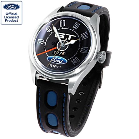 Ford GT Muscle Men's Watch With Engravings
