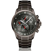 Black Hawk Helicopter Men's Stainless Steel Watch