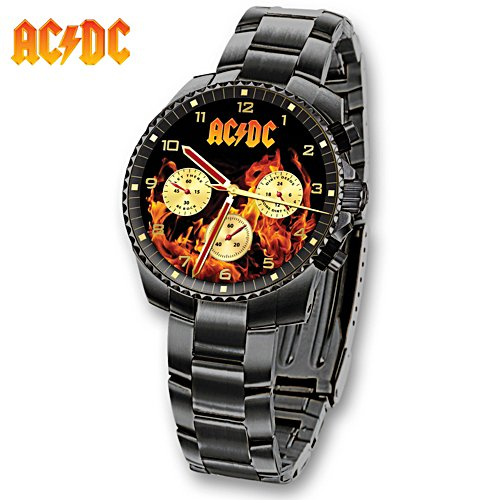 AC/DC Back in Black Men's Watch