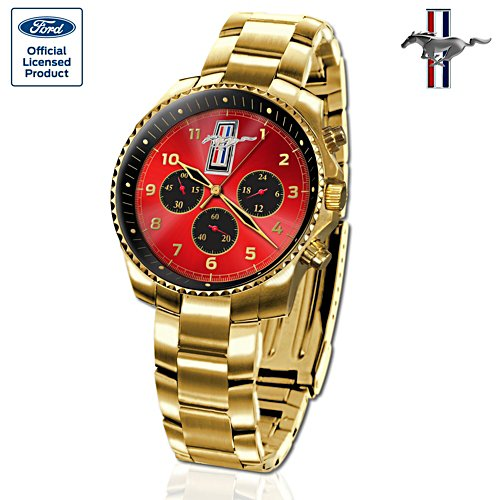 Ford Mustang BOSS 429 50th Anniversary Gold Watch