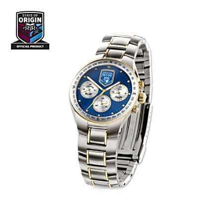 Official 'NSW Blues State of Origin' Chronograph Watch