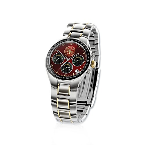 Fire Fighters United Watch with Maltese Cross