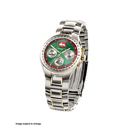 NRL South Sydney Rabbitohs Men's Stainless Steel Watch