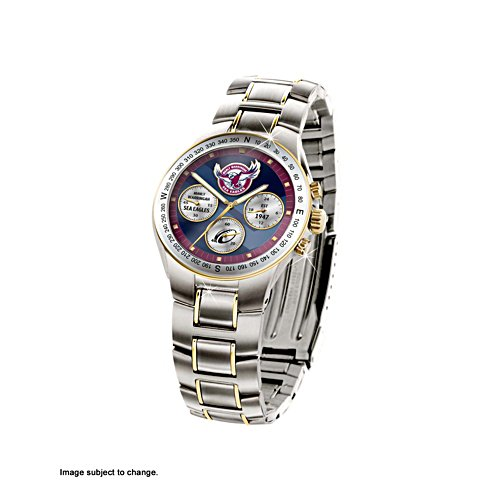 NRL Manly Sea Eagles Men's Watch
