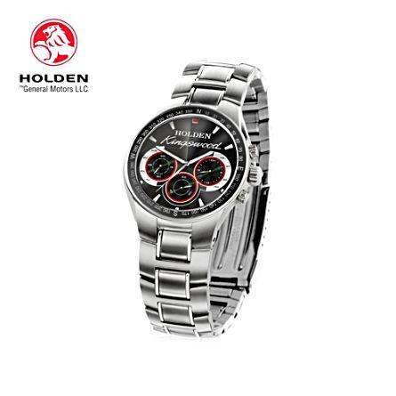Holden Kingswood Men's Stainless Steel Watch