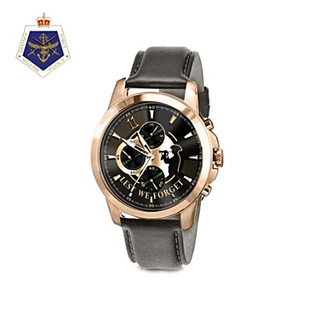 Lest We Forget Men's Chronograph Watch