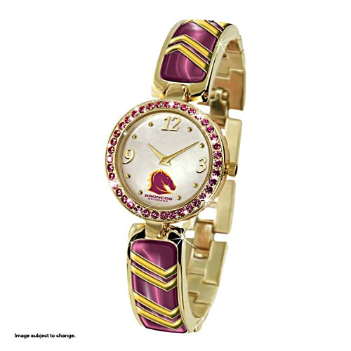 NRL Brisbane Broncos Women's Swarovski Watch