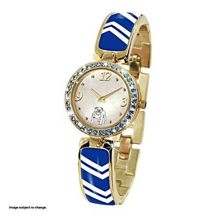 NRL Canterbury-Bankstown Bulldogs Ladies Swarovski Watch