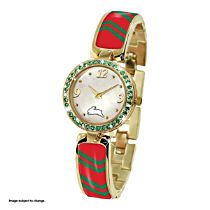 NRL South Sydney Rabbitohs Ladies Swarovski Watch