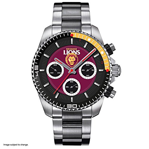 AFL Brisbane Lions Men's Watch