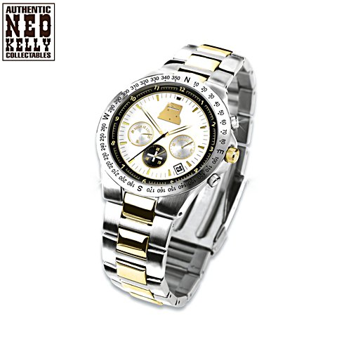 "Ned Kelly ""Such Is Life"" Men's Stainless Steel Watch"
