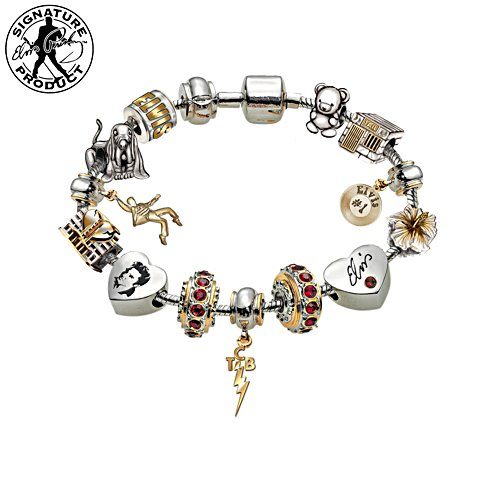 """Legend Of Elvis"" Women's Charm Bracelet"