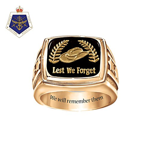 Lest We Forget Remembrance Ring