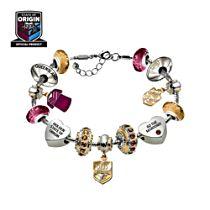QLD State Of Origin Charm Bracelet