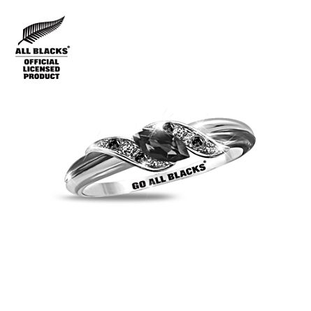 All Blacks Diamonesk® Women's Ring