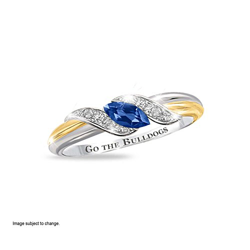 NRL Canterbury Bulldogs Diamonesk® Team Ring