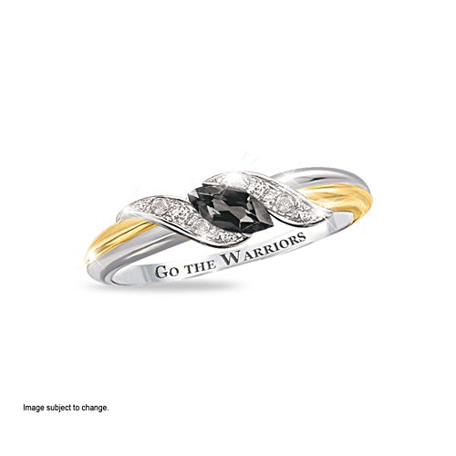 NRL New Zealand Warriors Diamonesk® Team Ring