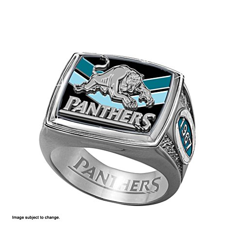 NRL Penrith Panthers Ring with Team Colours