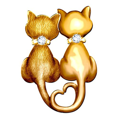 Sophisti-Cat Brooch