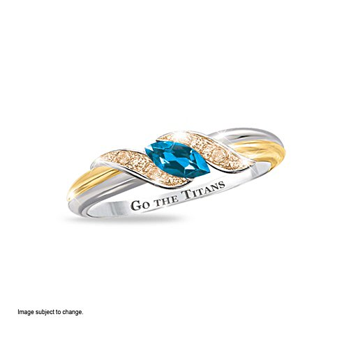 Gold Coast Titans Diamonesk® Team Ring