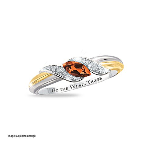 Wests Tigers Diamonesk® Team Ring