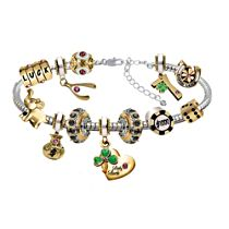 Lady Luck Bracelet With 11 Sparkling Charms