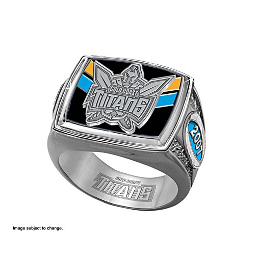 Gold Coast Titans Ring with Club Emblem