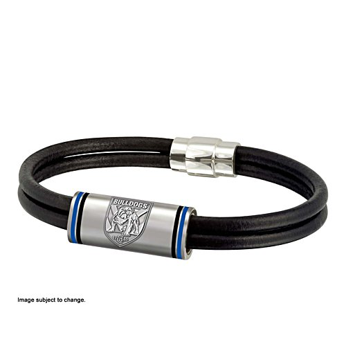 NRL Canterbury Bulldogs Wristband with Club Emblem