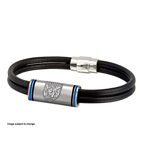 NRL Canterbury Bulldogs Wristband with Club Emblem