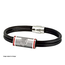 NRL St. George Illawarra Dragons Men's Leather Wristband