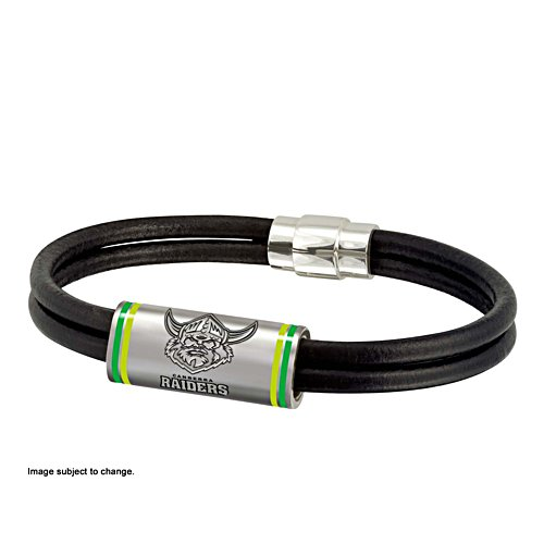 NRL Canberra Raiders Wristband with Club Emblem