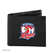 NRL Sydney Roosters Men's Leather Wristband