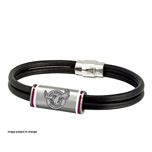 NRL Manly Sea Eagles Wristband with Club Emblem