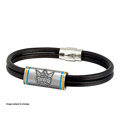 NRL Gold Coast Titans Wristband with Club Emblem