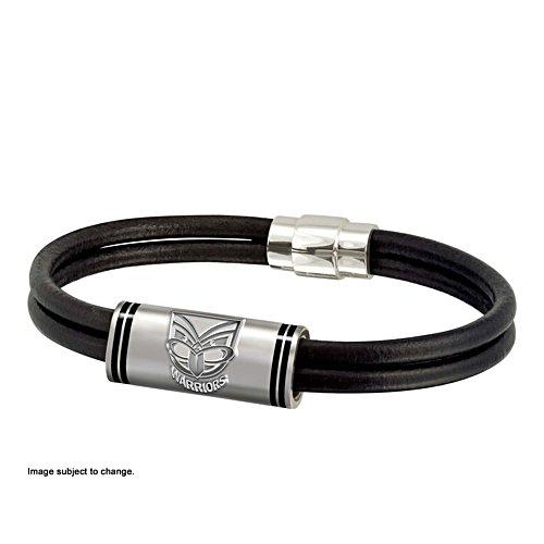 NRL New Zealand Warriors Wristband with Club Emblem