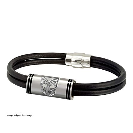 NRL New Zealand Warriors Wristband with Club Emblem