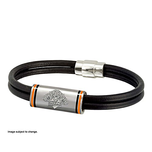 NRL Wests Tigers Wristband with Club Emblem