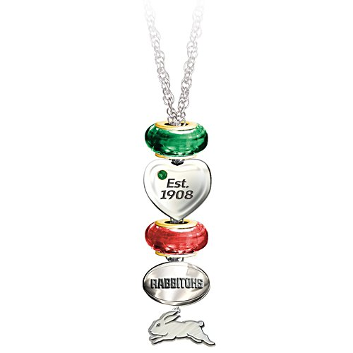 NRL South Sydney Rabbitohs Women's Pendant