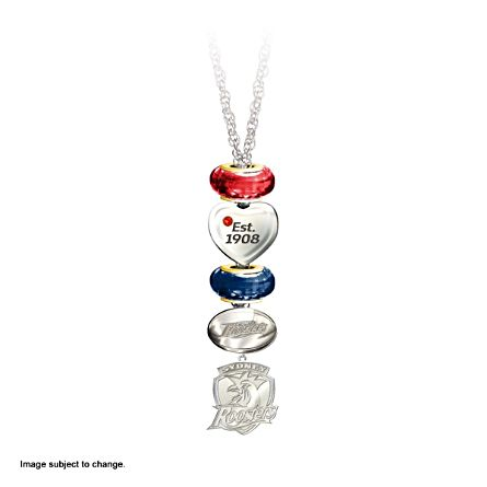 NRL Sydney Roosters Women's Pendant Necklace With Swarovski Crystal
