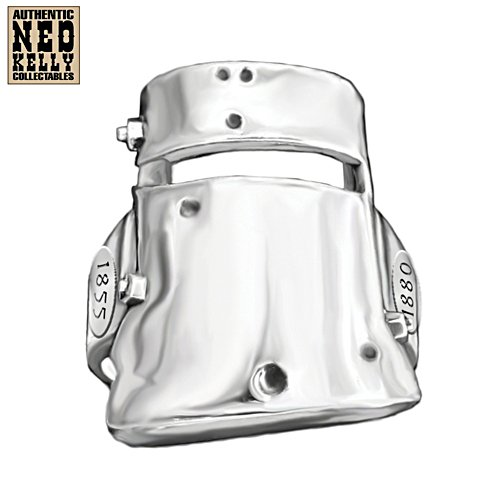 Ned Kelly Sculpted Helmet Men's Ring