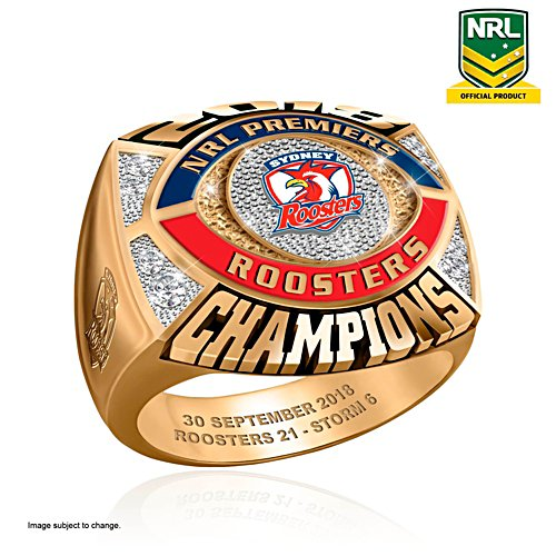2018 NRL Premiership Champions Men's Ring