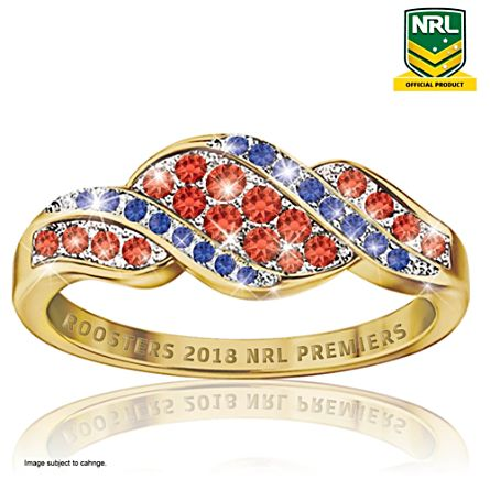 2018 NRL Premiership Champions Women's Ring