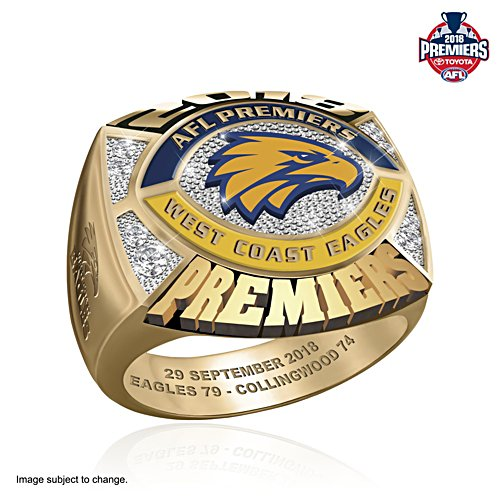 2018 AFL Premiers Men's Ring