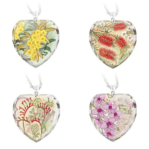 Serenity of the Garden Pendant Set