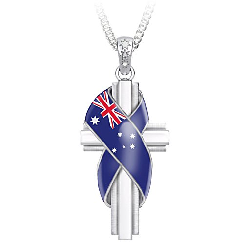 Advance Australia Diamond Pendant