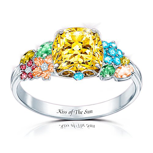 Kiss of The Sun Ring