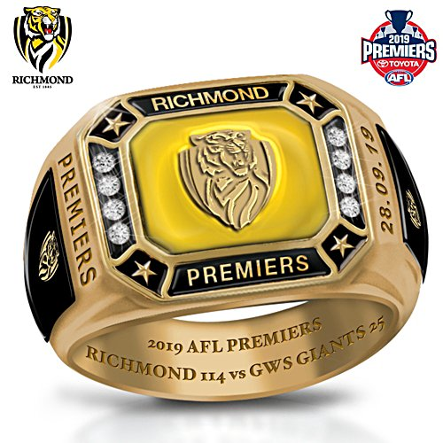 2019 Toyota AFL Premiers Men's Ring