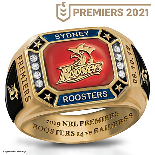 2019 Telstra NRL Premiers Men's Ring