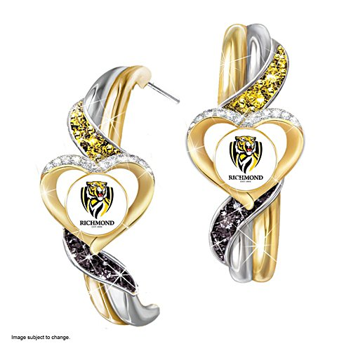 AFL Richmond Tigers Pride Earrings